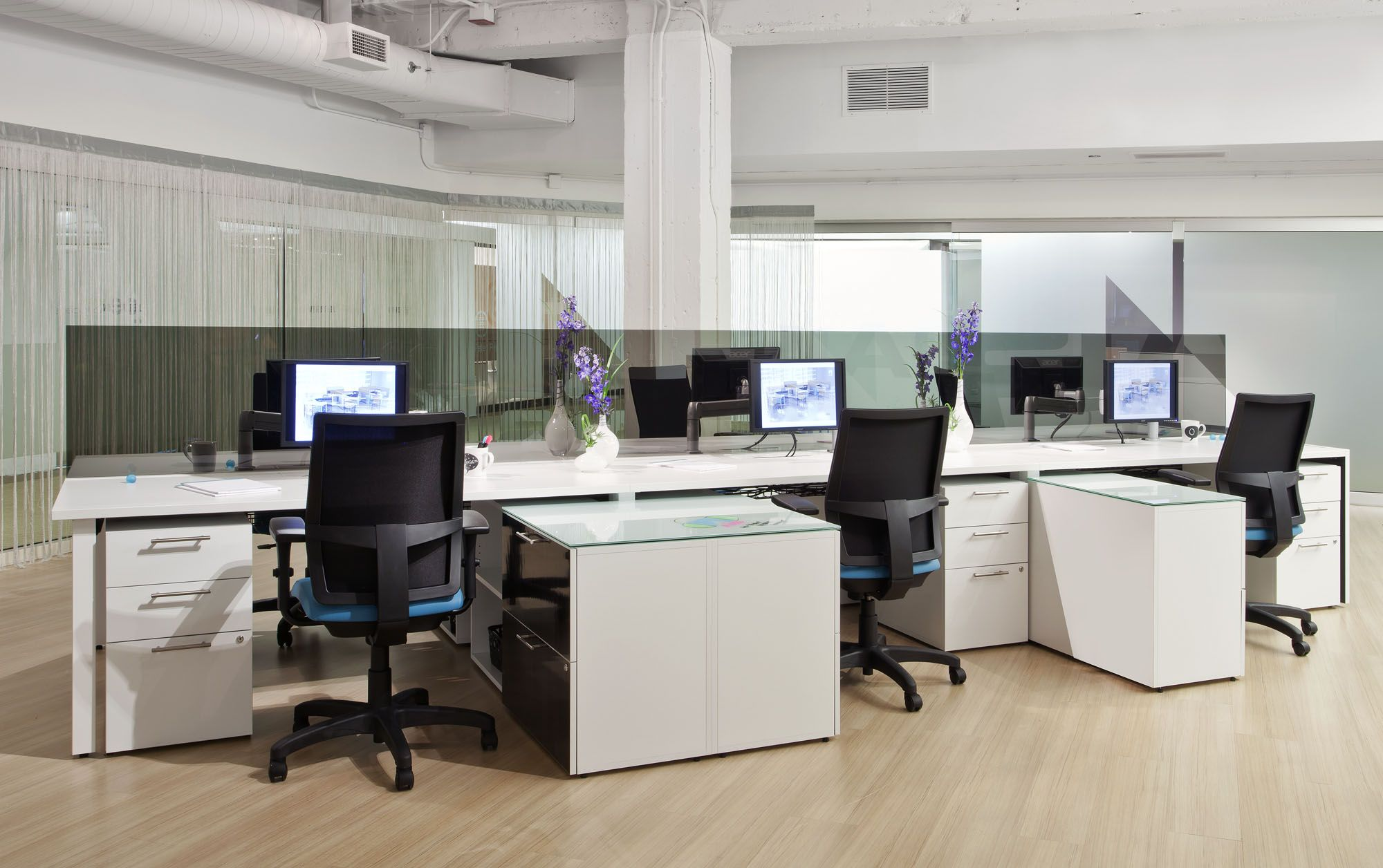 desking and benching anderson interiors