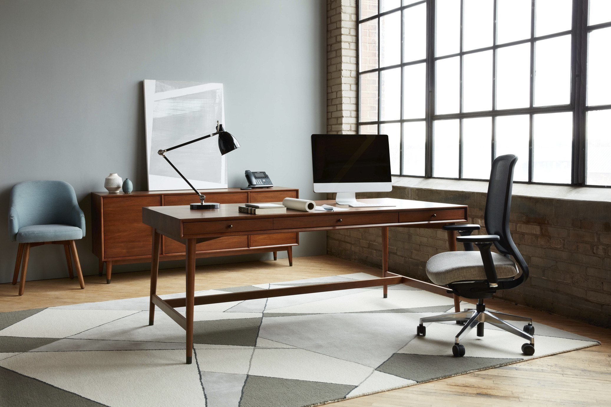 office workspaces. West Elm Workspace \u2013 Mid-Century Private Office Workspaces