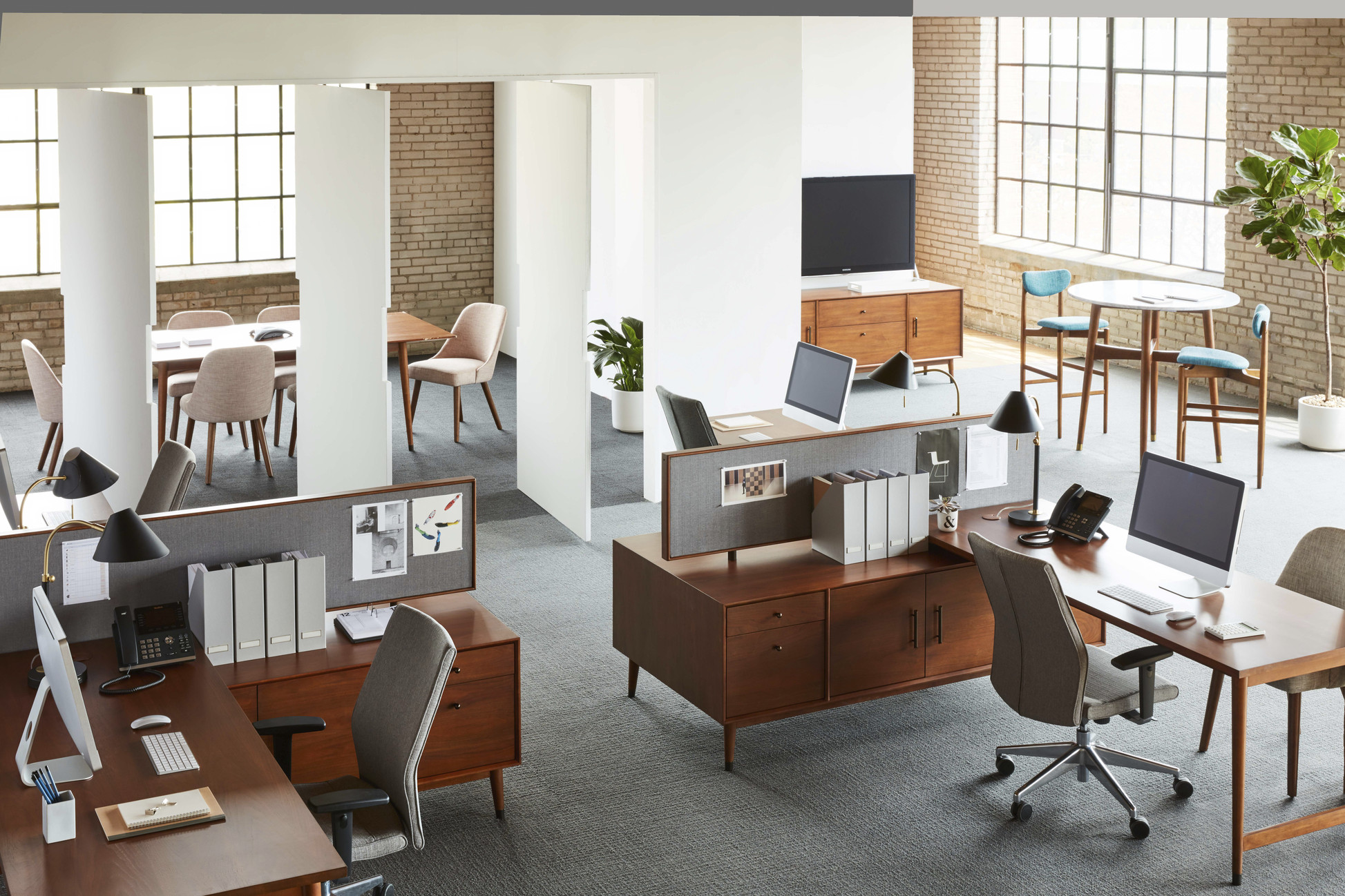 Open Office Space Planning : The open plan office pros cons and solutions anderson